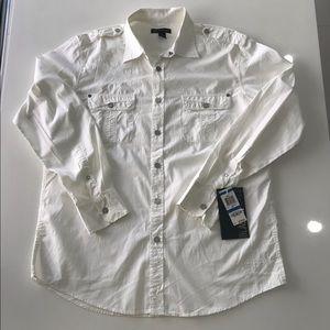 INC international concepts men's shirt sleeve long